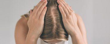 perdida cabello mujer