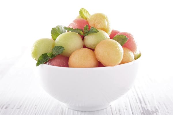 fruta antes de las comidas