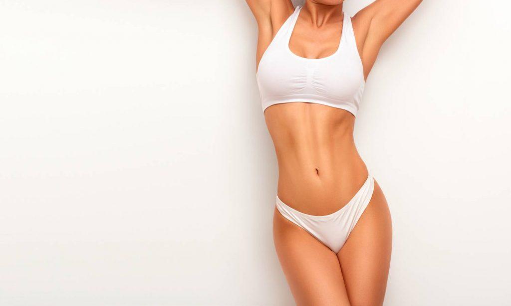 mujer cuerpo definido
