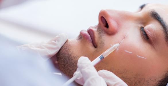 tratamiento facial para hombres